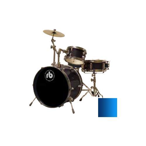 Drum Kit RB Drums RB-JR3-MBL 3 Piece Blue