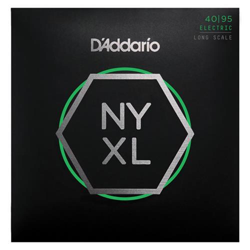 D'Addario NYXL4095 Long Scale Bass Guitar Strings - Super Light, 40-95