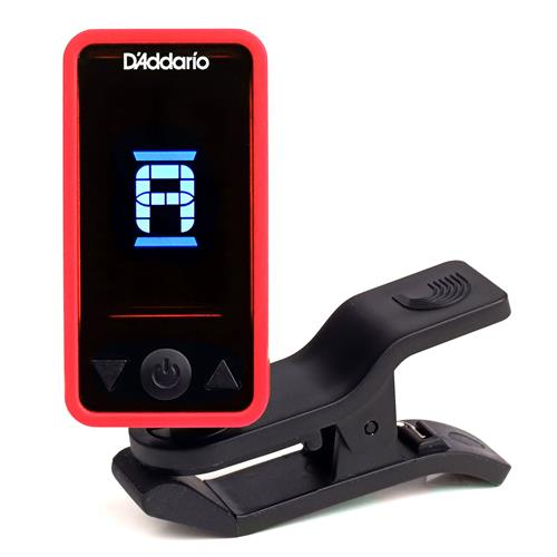 Planet Waves Eclipse Guitar Tuner - Red