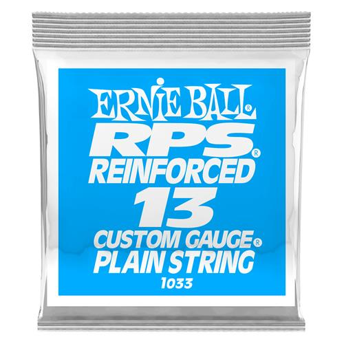 Ernie Ball P01033 RPS Reinforced Plain Electric Guitar String - .013