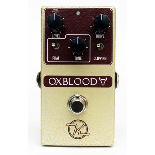 Keeley Oxblood Overdrive Effect Pedal