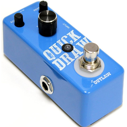 Outlaw Quick Draw Delay Effect Pedal