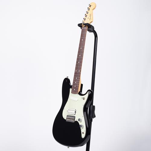 Fender Duo-Sonic HS Electric Guitar - Black, Rosewood Fingerboard