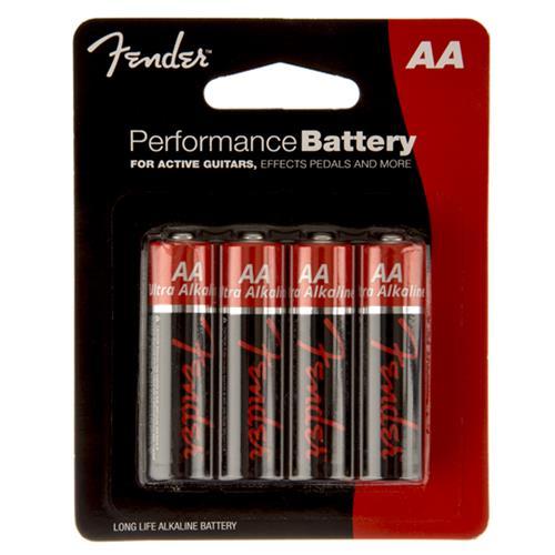 Fender Performance AA Batteries - 4 Pack