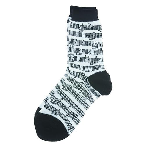 Socks Aim Socks Sh Music Blk/White