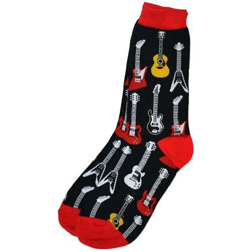 Ladies Guitar Socks - 9-11