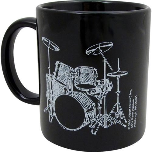 Mug Set - 5 Piece, Black/White