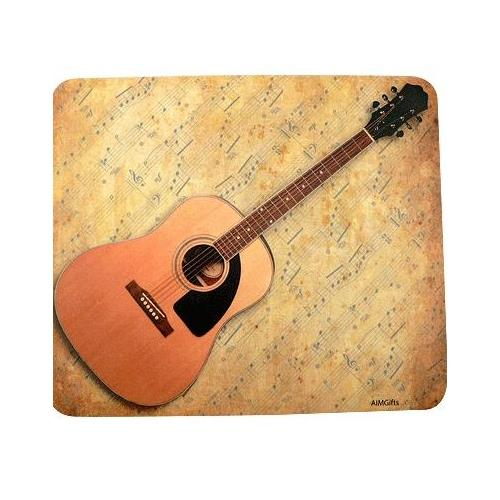 Mouse Pad Aim Sheet Music Acoustic Guitar