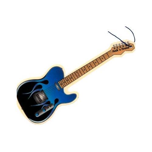 Flame Guitar Sweet Emotion Air Freshener