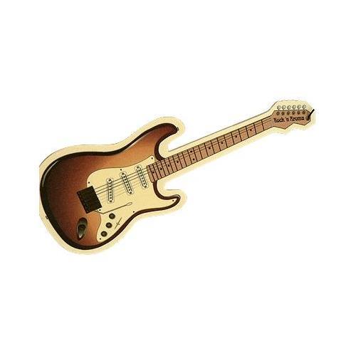 Sunburst Guitar Air Freshener - Coral Reed