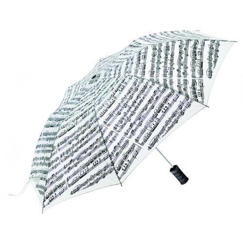 Umbrella Aim Sh Music White