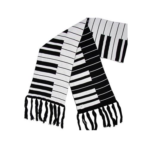 Scarf Aim Keyboard Black & White