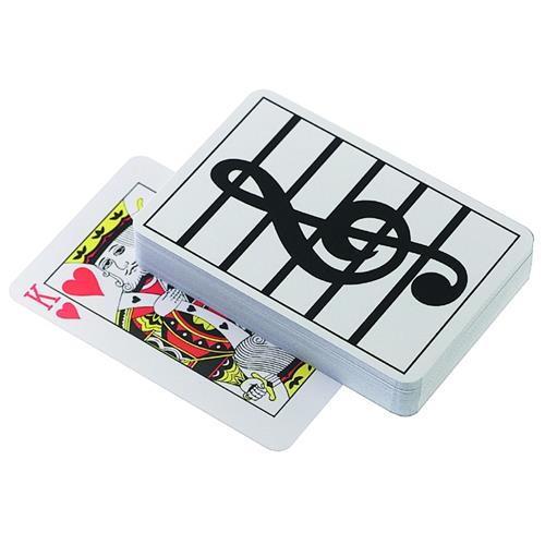 Playing Cards Aim G-Clef