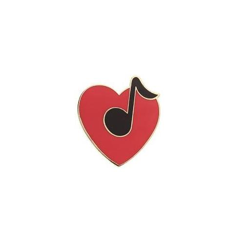 Heart with Note Pin