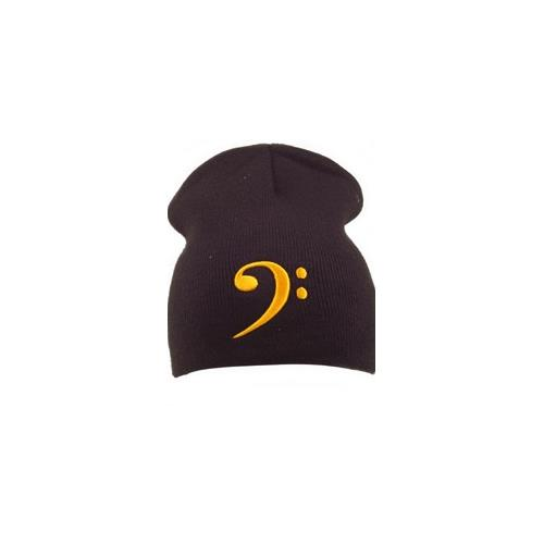 Hat Aim Bass Clef Black