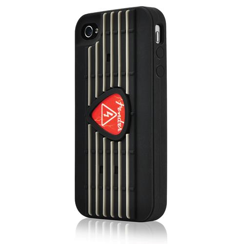 Fender iPhone 4 Protective Silicone Case - Red Pick