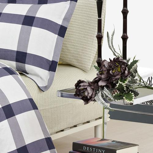 North Home Manchester 100% Cotton 4pc Sheet Set (Queen)
