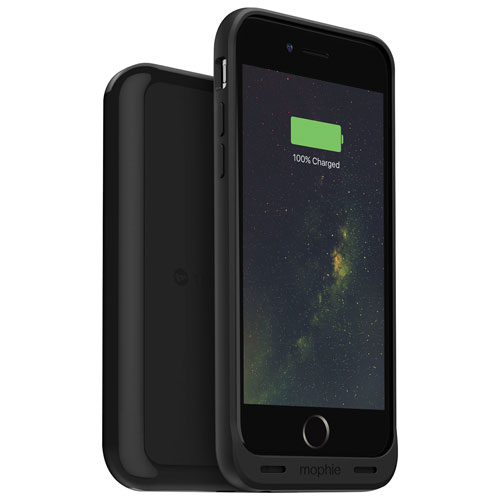 mophie Juice Pack Wireless iPhone 6/6S Battery Case - Black