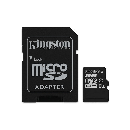 Carte mémoire microSDHC de 45 Mo/s 32 Go de Kingston