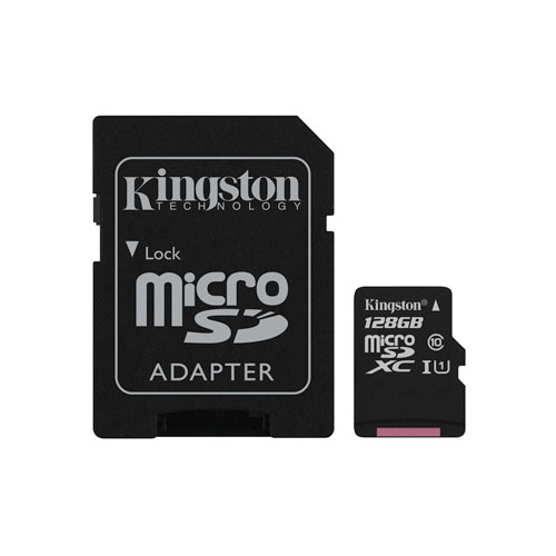 Kingston 128GB 45MB/s microSDXC Memory Card