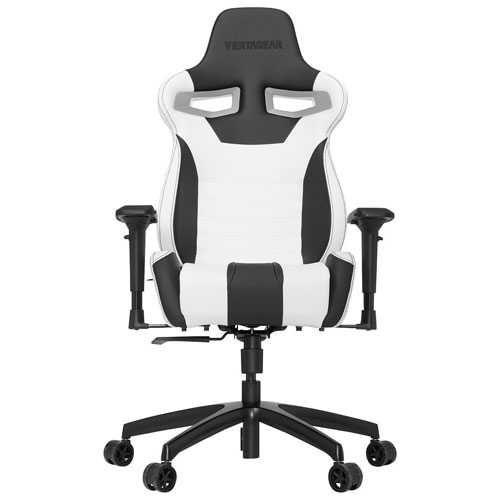 Vertagear Racing S-Line 4000 Ergonomic Faux Leather Racing Gaming Chair - Black/White