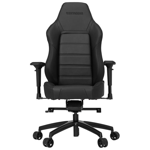 Vertagear Racing P-Line PL6000 Faux Leather Gaming Chair- Black
