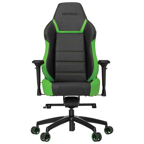 Vertagear Racing P-Line PL6000 Ergonomic Faux Leather Racing Gaming Chair- Green/Black