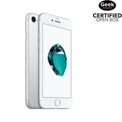 iPhone 7 de 32 Go d'Apple - Argenté - Carte SIM verrouillée par fournisseur - Boîte ouverte