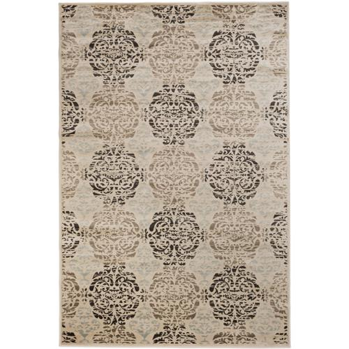 "Frost Ivory Viscose Rug 7'10"" x 10'2"""