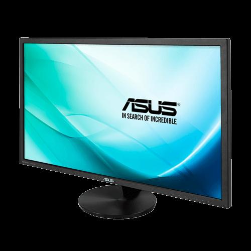 """ASUS VN289H Noir 28 """"5ms (GTG) Rétro-éclairage LED à écran large HDMI Écran LCD réglable à inclinaison avec fonction de soins des yeux 300 cd / m2 ASCR 80000000: 1 (3000: 1) Haut-parleurs intégrés"""