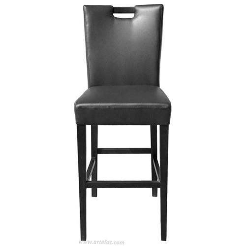 Fine Handle Back Leather Stool Black 26 Counter Seat Height Forskolin Free Trial Chair Design Images Forskolin Free Trialorg