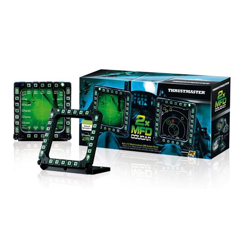 Thrustmaster MFD Cougar Pack Flight Control Panels