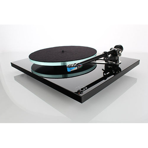 Rega Planar 3 Turntable - P3 with Elys 2 Cartridge (Black)