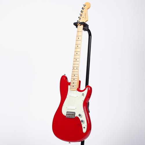 Fender Duo-Sonic Electric Guitar - Torino Red, Maple Fingerboard