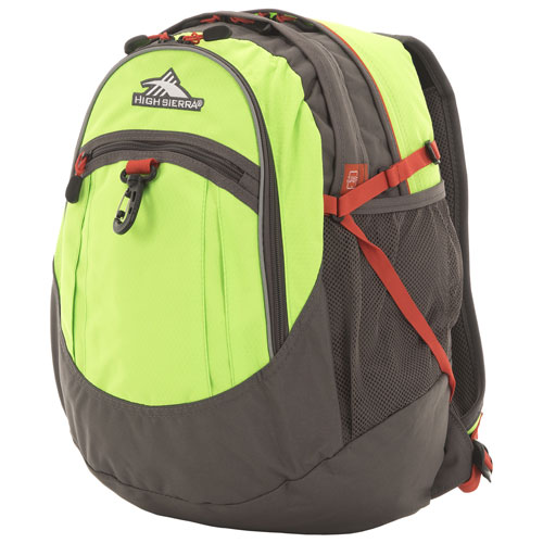 High Sierra Fat Boy 39L School Backpack - Lime Slate Redline   Backpacks -  Best Buy Canada d5b216a298f86