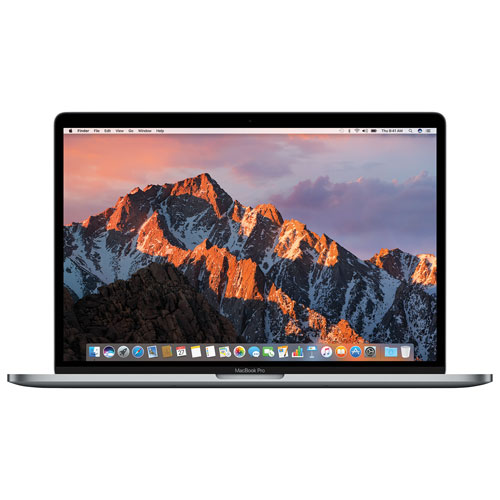 "Apple MacBook Pro 15.4"" Laptop w/ Touch Bar (Intel Core i7 2.7GHz/512GB SSD/16GB RAM)-Space Grey-Eng"