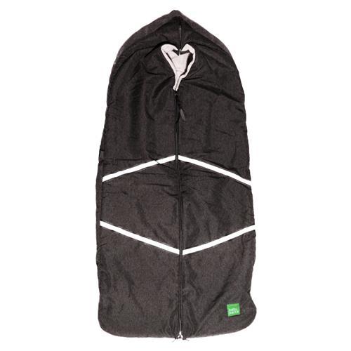 baby parka Stroller Cover - black