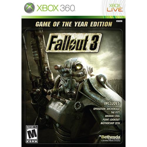 Fallout 3 Game Of The Year [Platinum Hits] - XBOX 360