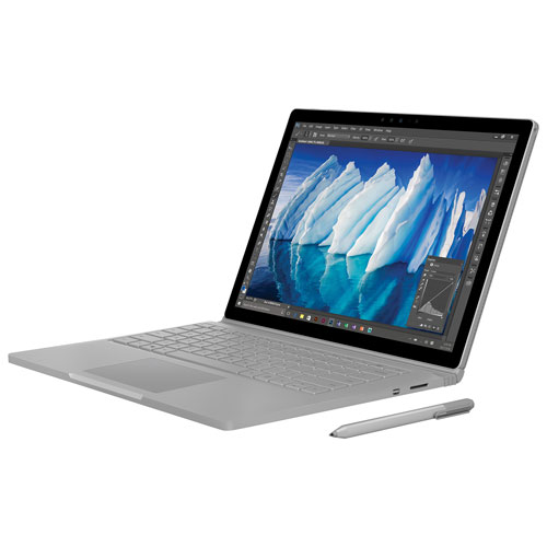 "Microsoft Surface Book with Performance Base 13.5"" Laptop (Intel Core i7/512GB SSD/16GB RAM) - Eng"