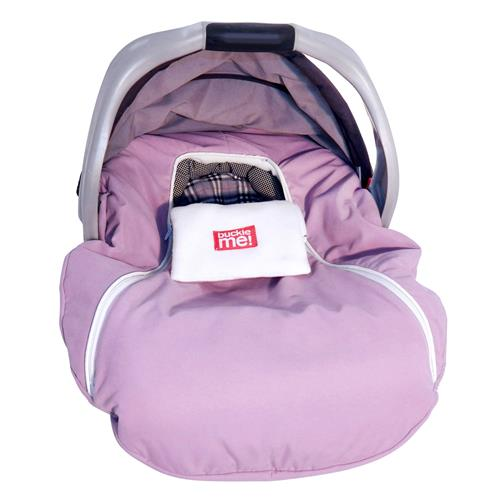 baby parka Safe Car Seat Cover - pink