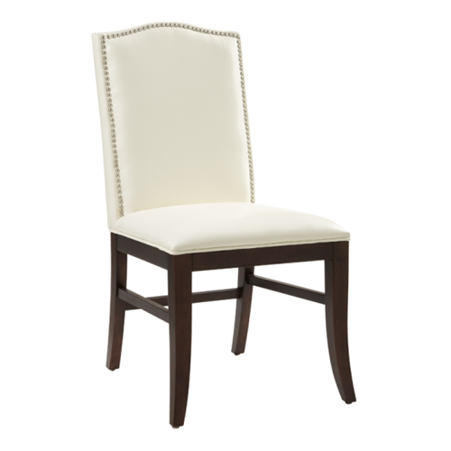 Ivory Leather Dining Room Chairs: Dining Chair In Ivory Leather : Dining Chairs