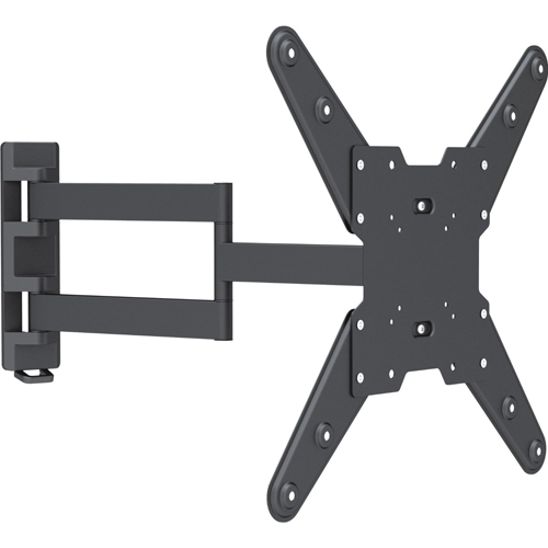 """GlobalTone Full Motion TV Wall Mount for Flat Screen PLASMA LCD LED Television 26"""" to 47"""" Swivel Arm"""