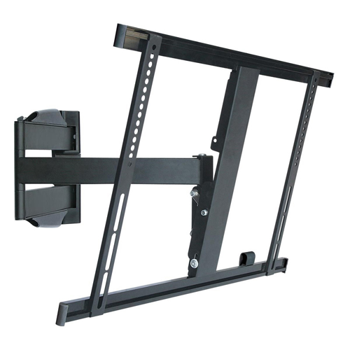 "GlobalTone Full Motion TV Wall Mount for Flat Screen LED Television 42"" to 65"" Ultra-Slim Swivel Arm"