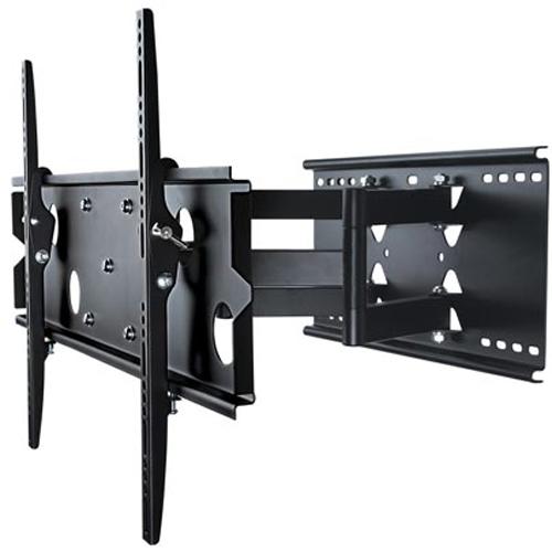 """Support TV mural plein mouvement a double bras articules pour television 32"""" a 60"""" LED LCD PLASMA ecran"""