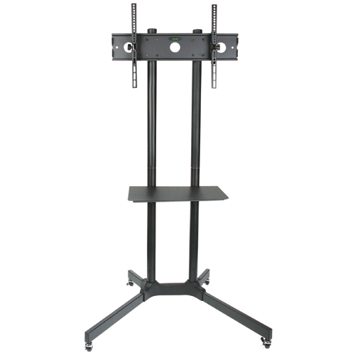 Globaltone Rolling Tv Cart Stand Mobile Trolley For Led