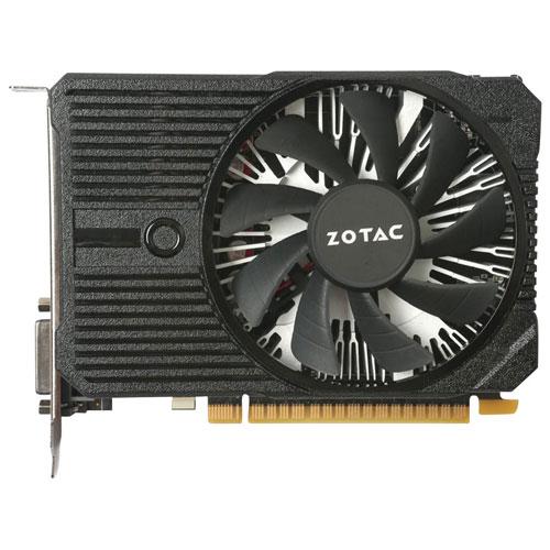Carte graphique GDDR5 de 2 Go GeForce GTX 1050 Mini de ZOTAC