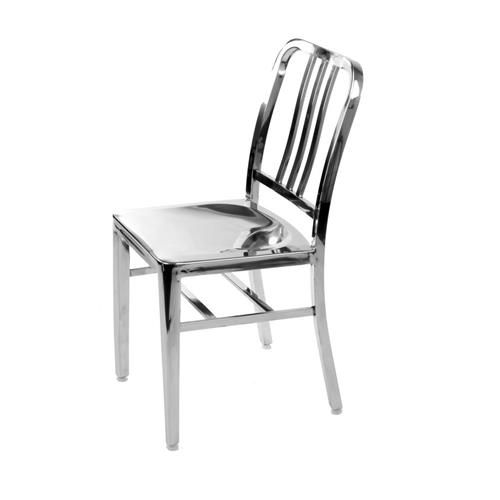 2 Stainless Steel Modern Salem Side Dining Chair Navy Chair Cafe Chair :  Dining Chairs   Best Buy Canada