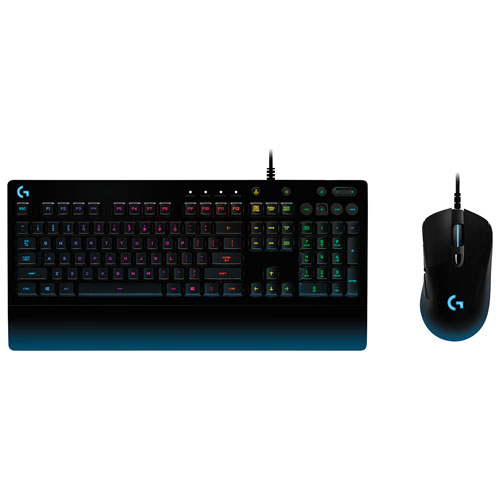 Logitech Prodigy G213 Optical Gaming Keyboard & Mouse Combo - English