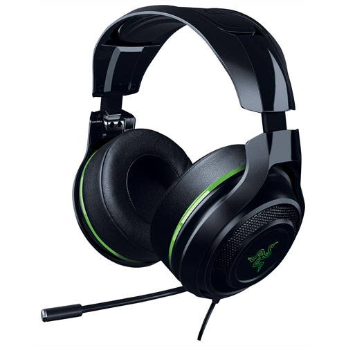 Razer Man O' War 7.1 Over-Ear Sound Isolating Gaming Headset - Green