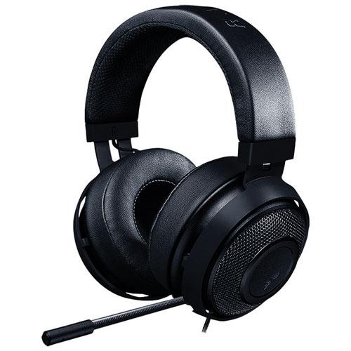 Razer Kraken Pro V2 Over-Ear Sound Isolating Gaming Headset - Black